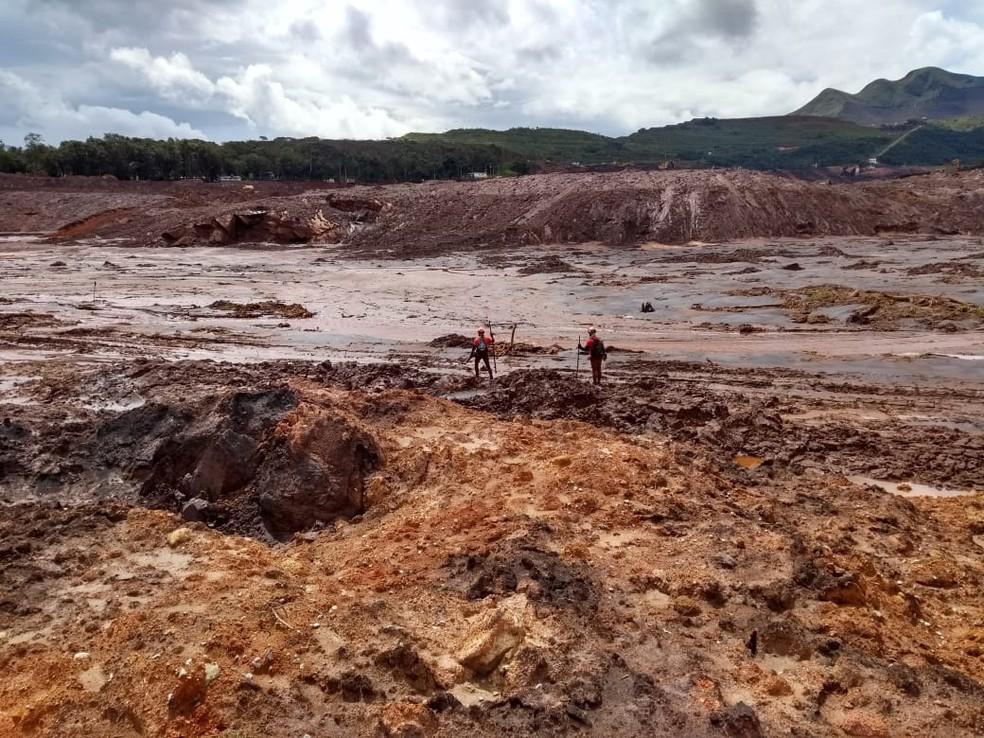 Rompimento da barragem da Vale em Brumadinho — Foto: Eduardo Fernando Castanho/Arquivo pessoal