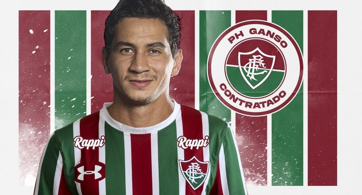 1153172b4f Fluminense anuncia contratação de Paulo Henrique Ganso