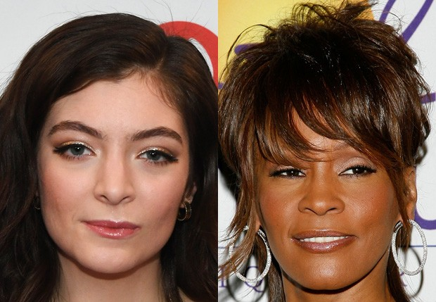 Lorde e Whitney Houston (Foto: Getty Images)