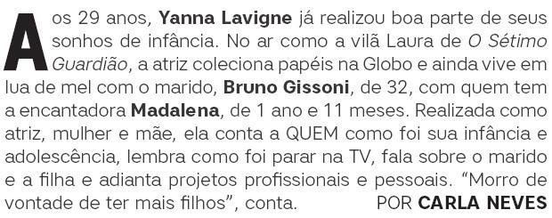 Abre - Yanna Lavigne (Foto: .)