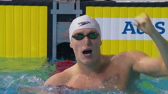 Nadador Henrique Rodrigues é pego no doping