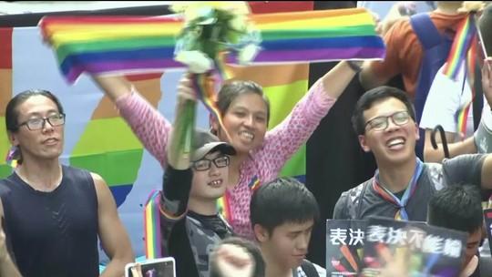 Taiwan é o 1º país da Ásia a legalizar o casamento gay