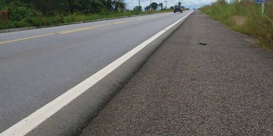 Rodovia federal em Roraima (Foto: Divulgação/CNT)