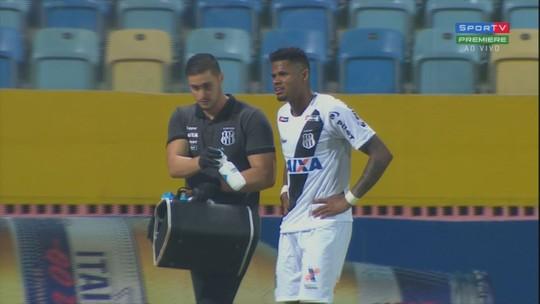"""Expulsão de Júnior Santos incomoda Chamusca: """"Vamos resolver internamente"""""""