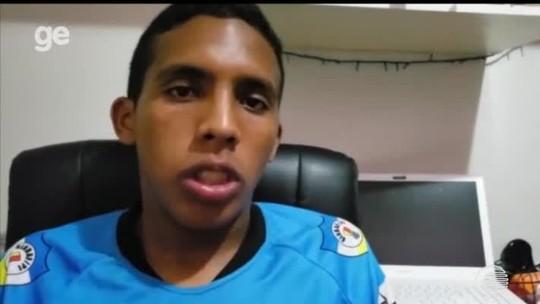 "Torcedor que xingou árbitro de ""negro e urubu"" é identificado; caso de injúria racial vai ao MP"