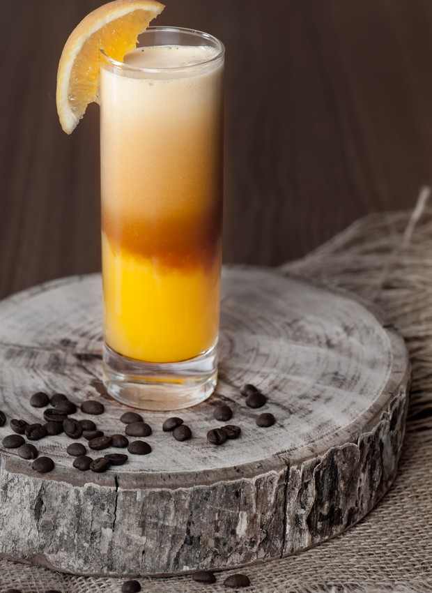 Receita de drink de laranja, do Orange Coffe, da Sterna Café (Foto: Divulgação)