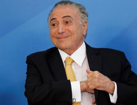 O presidente Michel Temer  (Foto:  Adriano Machado/REUTERS)