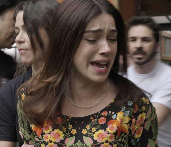 Shirlei cai em armação de Jéssica e é presa  (Foto: TV Globo)