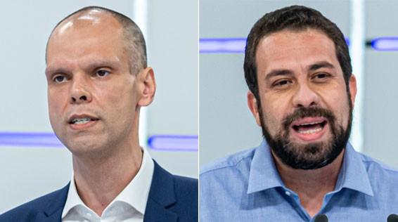 Pesquisa Datafolha para 2º turno em São Paulo: Bruno Covas, 48%; Guilherme Boulos, 40%