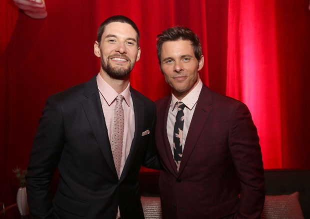 Ben Barnes e James Marsden (Foto: Getty Images)
