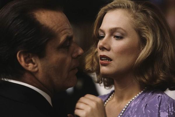 Jack Nicholson e Kathleen Turner em A Honra do Poderoso Prizzi (1985) (Foto: Divulgação)