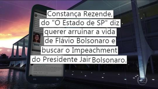 Comentário de Bolsonaro contra jornalista provoca crítica de OAB e associações de imprensa