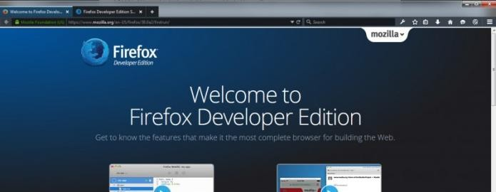 Mozilla lan?ou uma vers?o 64-bit do Firefox para desenvolvedores Windows (Foto: Reprodu??o/The Next Web)