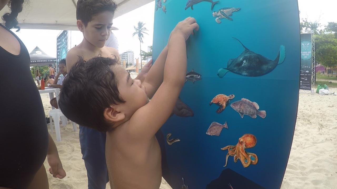Segundo Almeida, o aprendizado lúdico é importante para que as crianças se sintam envolvidas no propósito do projeto (Foto: Divulgação)