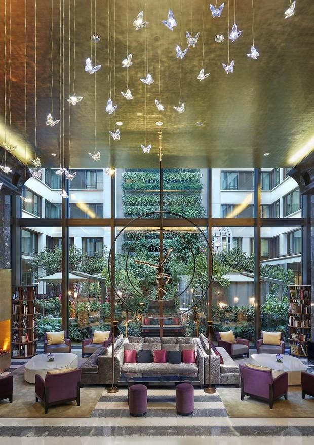 Lindo lobby do hotel Mandarin Oriental (Foto: Divulgação)