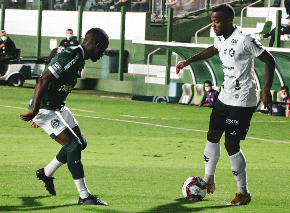 Goiás 1 x 1 Remo, pela 17ª rodada da Série B do Brasileiro — Foto: Ascom Remo