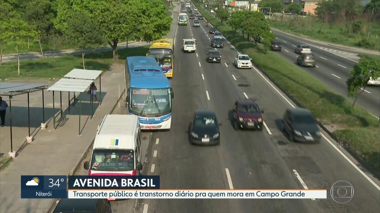 Série sobre Avenida Brasil mostra desafios dos transportes