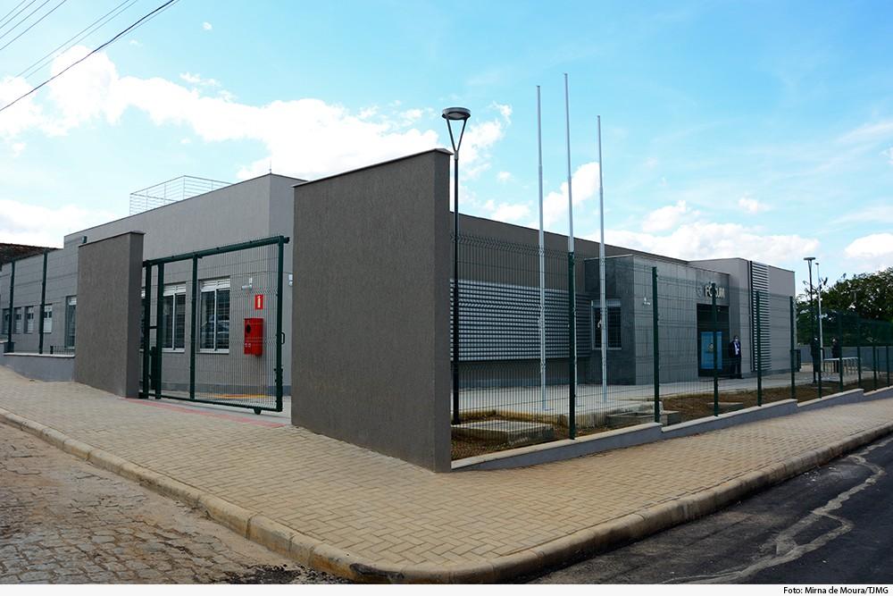 TJMG inaugura novo fórum no Centro de Carmo da Mata