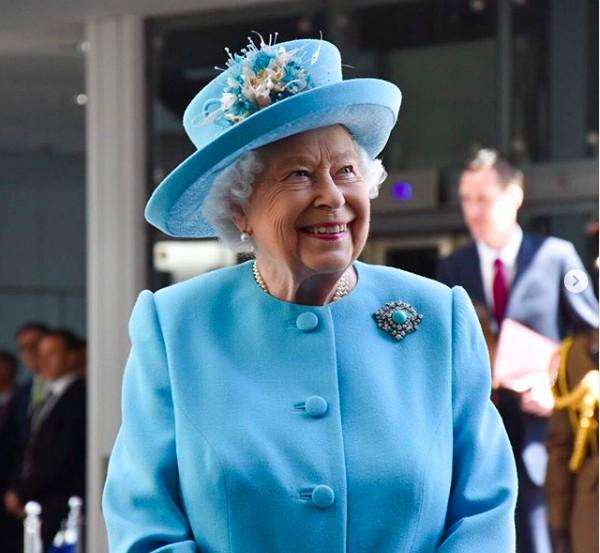 A Rainha Elizabeth 2ª (Foto: Instagram)
