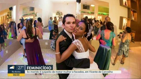 Foragido, ex-marido é suspeito de matar mulher a facadas na porta de casa, na Zona Norte do Rio
