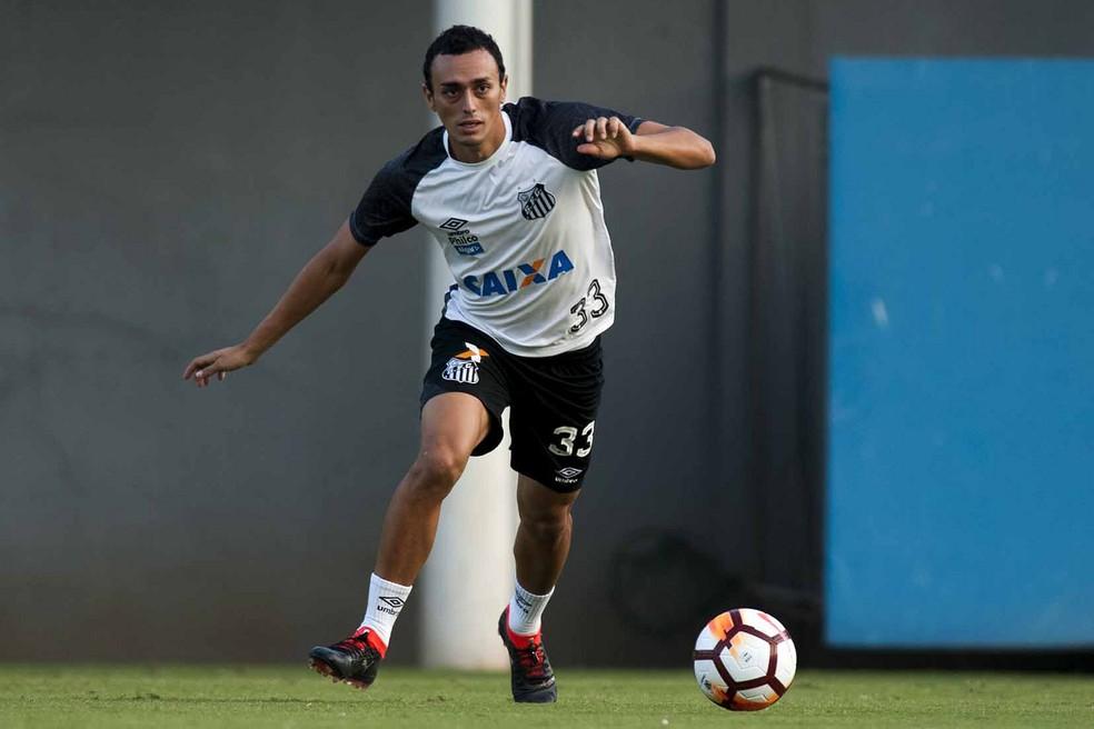 Diego Pituca foi destaque no Santos durante a temporada 2018 — Foto: Ivan Storti/Santos FC