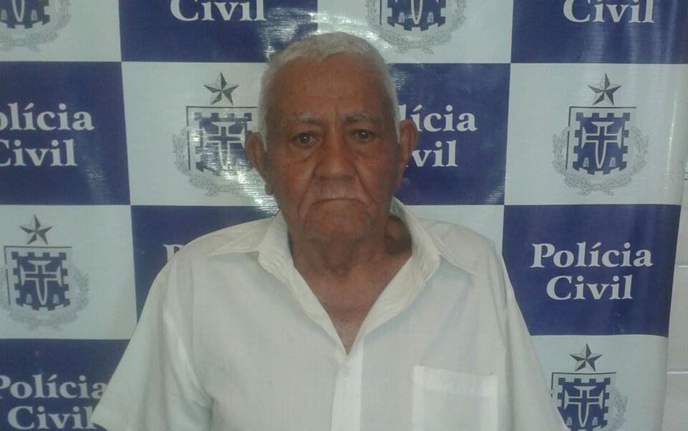 Idoso foi reconhecido por cinco vítimas de estupro, segundo polícia (Foto: Divulgação/ Polícia Civil)
