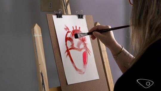 Arte de coração, escultura alimentar e bate-papo sobre depressão no AgTV, 17