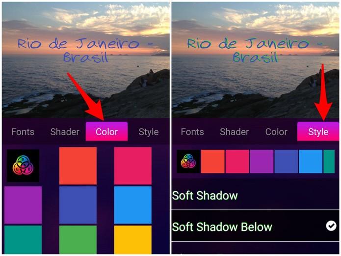 e8160d75e4 Como inserir frases em imagens no celular com o app Picture Quotes ...