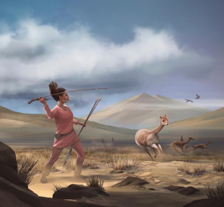 Há 9 mil anos, na região dos Andes, as mulheres eram caçadoras (Foto: Matthew Verdolivo, UC Davis IET Academic Technology Services)