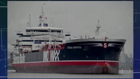 Irã retém petroleiro britânico no Golfo Pérsico