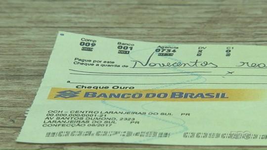 Polícia Civil investiga estelionatário que passa cheques falsos em nome de prefeitos de municípios do interior do Paraná