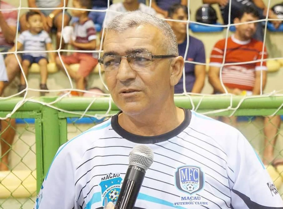 Ivan Ribeiro comanda o Macau no Campeonato Potiguar e na Liga Nordeste (Foto: Francisco Anthony/Macau Futsal)