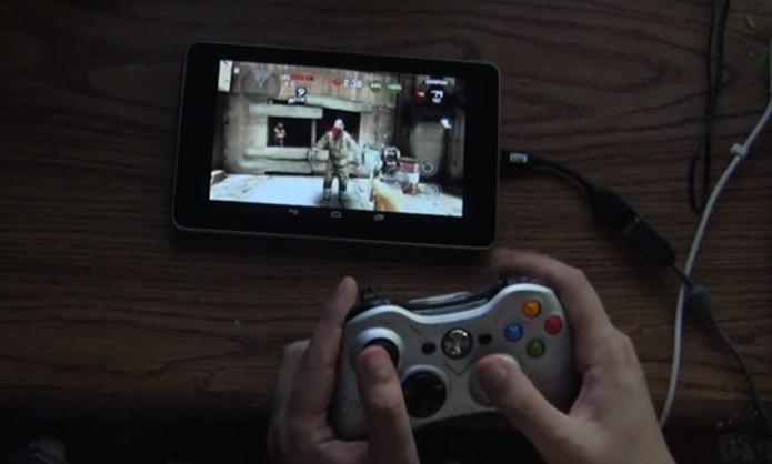É fácil configurar o controle com fio do Xbox 360 no Android (Foto: Reprodução / OneClickRoot)