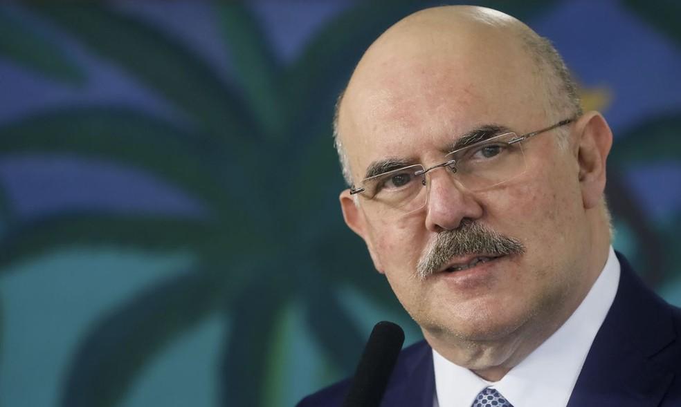 Milton Ribeiro, ministro da Educação — Foto: Isac Nóbrega / Presidência da República