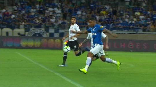Cruzeiro 1 x 0 Corinthians: assista aos melhores momentos
