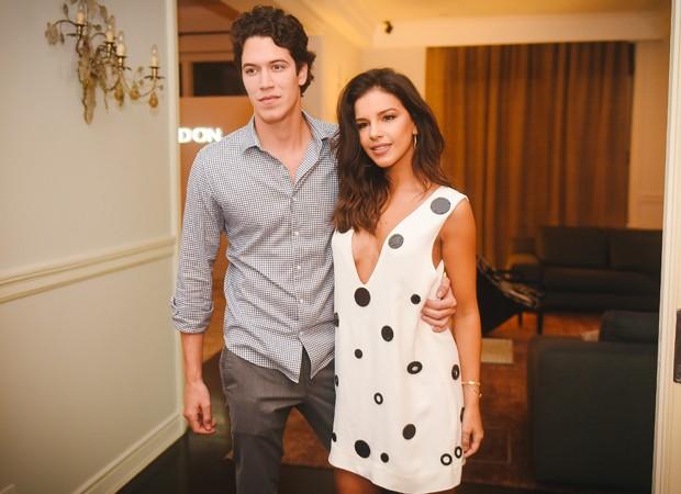 O casal Lucas Kalil e Mariana Rios (Foto: Foto:  Divulgação)