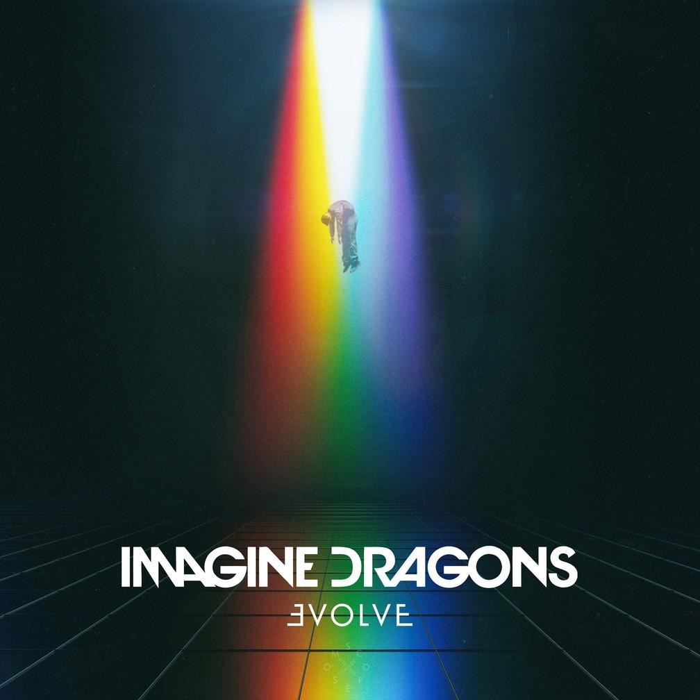 Capa de 'Evolve', terceiro disco da banda Imagine Dragons (Foto: Divulgação)