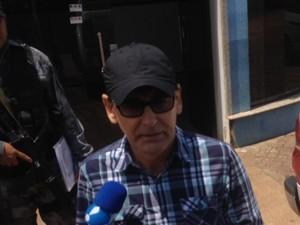 Alex Testoni está preso desde a última quarta (Foto: Gaia Quiquiô/G1)