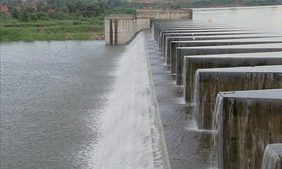 Barragem do Cocó foi criada para evitar alagamentos em áreas de risco em Fortaleza (Foto: TV Verdes Mares/Reprodução)