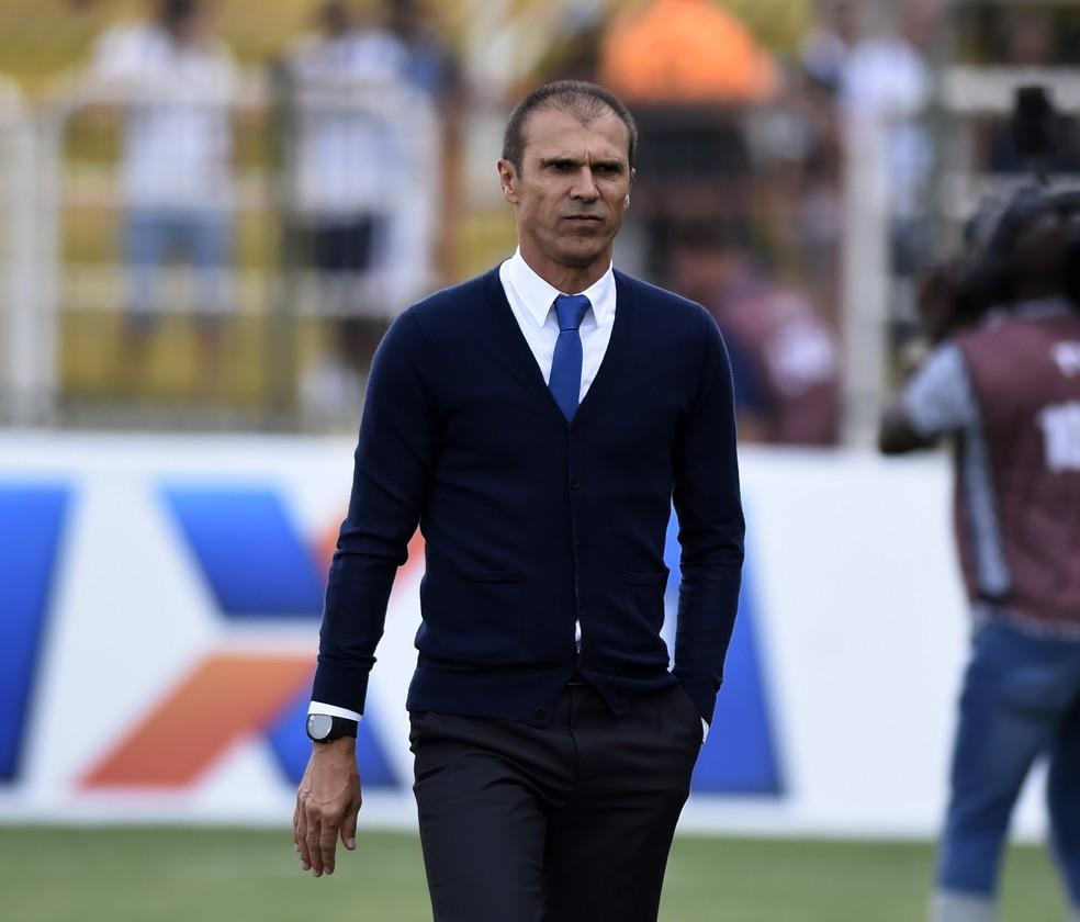 Milton Mendes deixa o comando do Vasco após 28 partidas (Foto: André Durão)