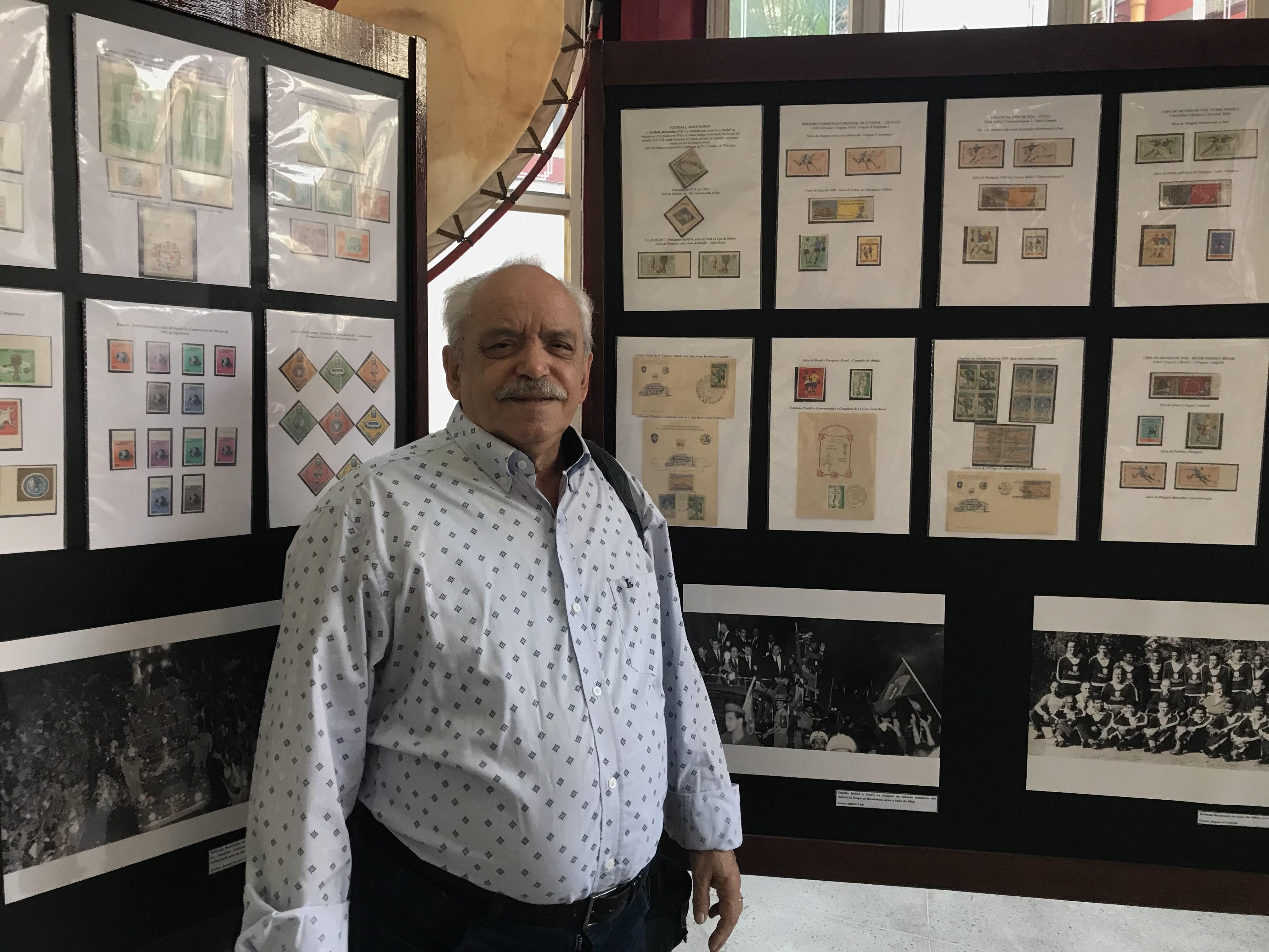 Antonio Joaquim Veloso, 76 anos, geógrafo