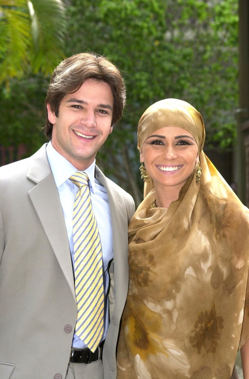 Murilo Benício e Giovanna Antonelli como Lucas e Jade — Foto: Divulgação