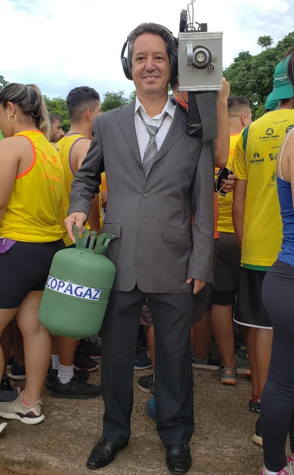 Álvaro Marcos Palma Ribeiro, na Corrida de Reis — Foto: Ianara Garcia/ TVCA