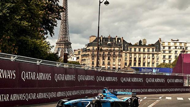Fórmula E chega a cidades que proíbem corridas de carros a combustão, como Paris (Foto: divulgação)