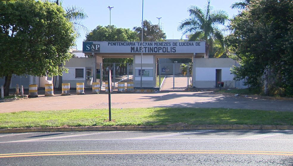 Penitenciária de Martinópolis — Foto: Reprodução/TV Fronteira