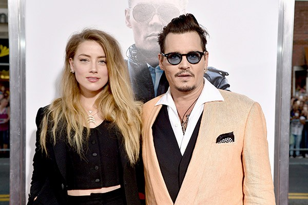 Johnny Depp e Amber Heard (Foto: Getty Images)