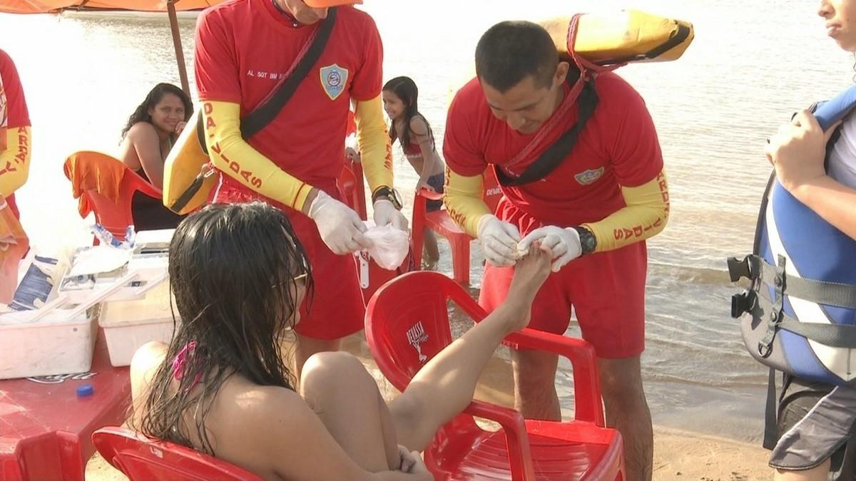 Banhistas são atacados por piranhas em praias de Boa Vista