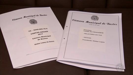 TCE aponta lista de irregularidades na Câmara de Bastos