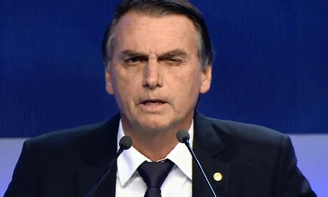 Jair Bolsonaro, candidato do PSL