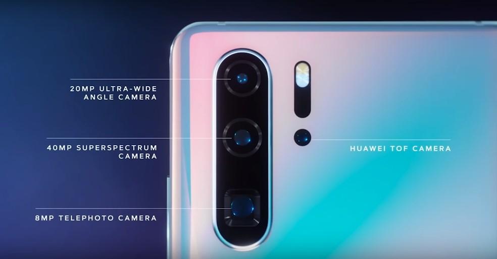 camera do huawei p30 pro e formada por quatro lentes - Tudo sobre câmeras de celular